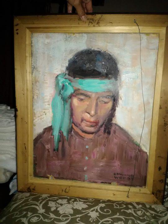 Edmond Woods Native American Indian - Humanitygrows Art World