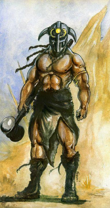 Barbarian - Blaszczec Art