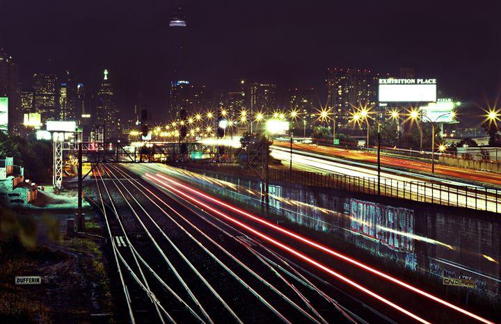 Dufferin at night - Shot by JRTMAC