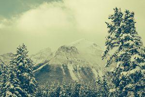 Peaks of Lake Louise