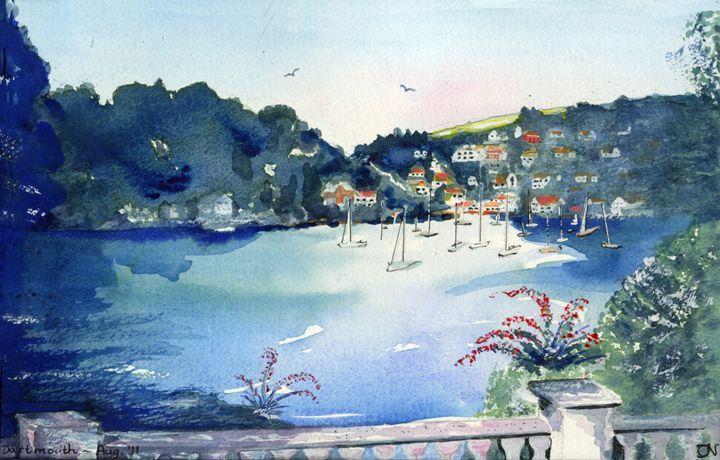 Dartmouth -  as Evening Falls - CALIOPE (Cali Norton)