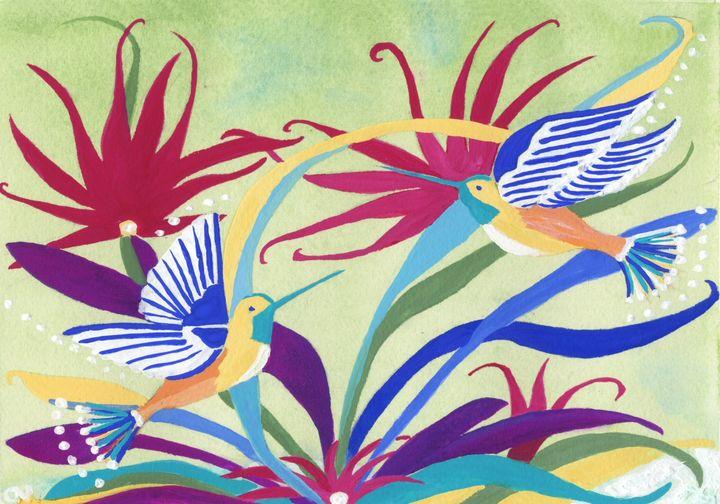 Caribbean Humming-Birds - CALIOPE (Cali Norton)