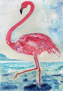 Tickled-Pink Flamingo