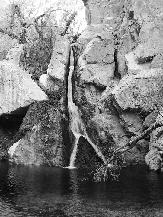 Death Valley Waterfall - Velva Lynn
