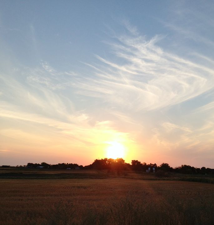 North Dakota Sunset - Velva Lynn