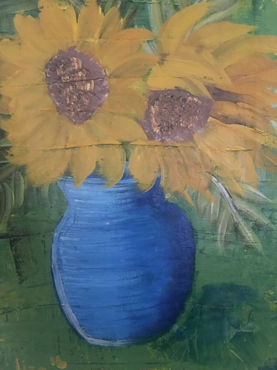 Sunflowers for me - Discover Color by Liza
