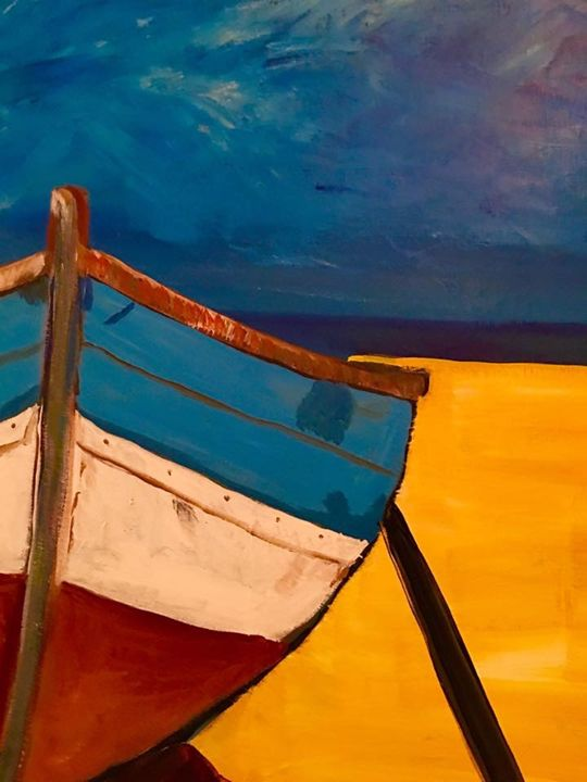 The Boat - Discover Color by Liza