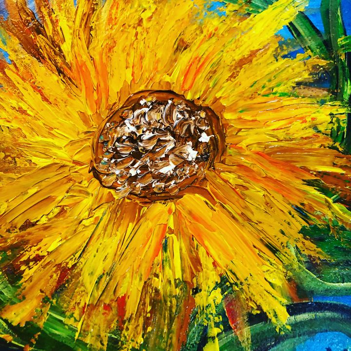 Ole Sunflower. - Discover Color by Liza