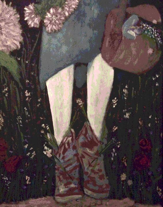 Flower Shoes - Gibbothy