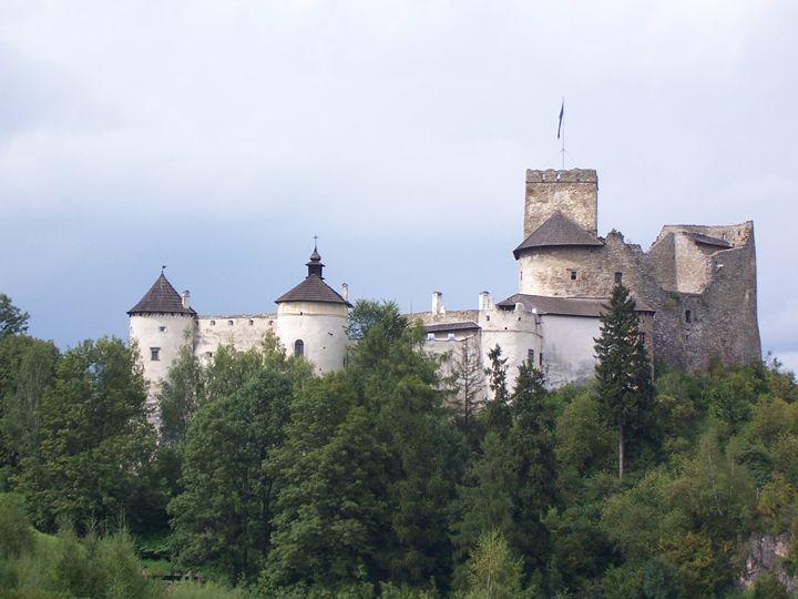 Castle in Niedzica Poland -  Anitalesisz