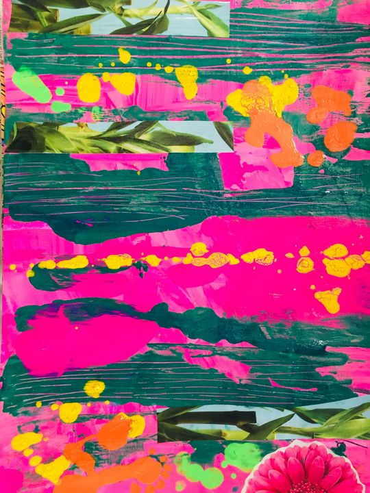 Island - Intuitive Abstract Studio