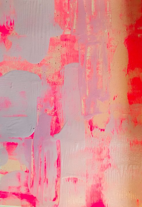 Shell Pink - Intuitive Abstract Studio
