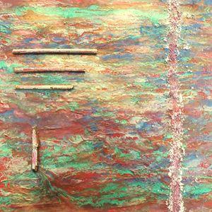 """Carré d'Abstrait """"2.9"""""""