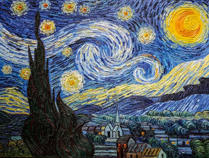 Starry Night - Paint Our Days