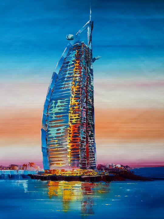 Burj Al Arab - Paint Our Days