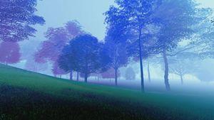 Old Land - Purple Hills