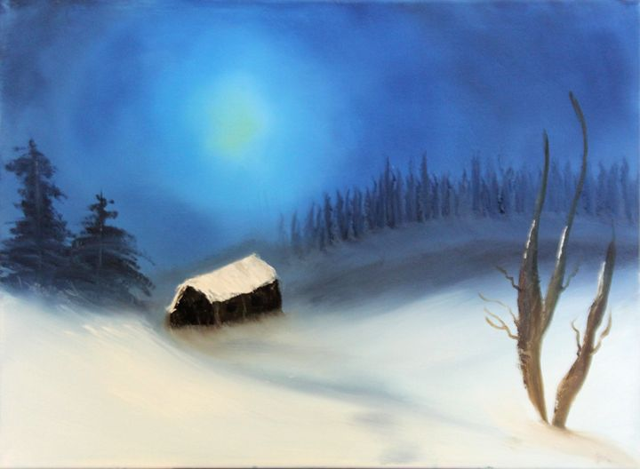 Snowy Forest - Drew's Gallery