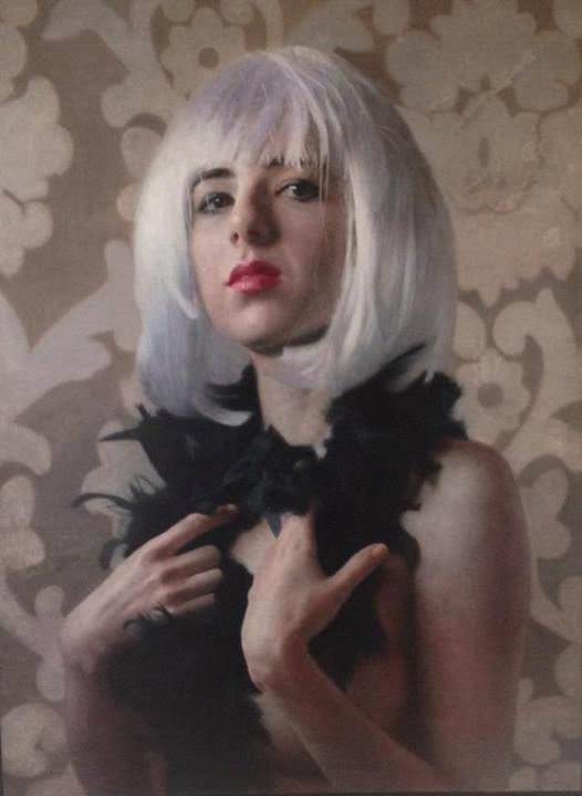 Harriet with White Hair - 101artgalleries