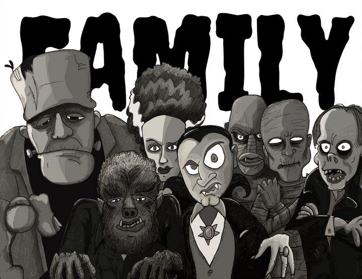 Famous Monsters. - Lenny K.