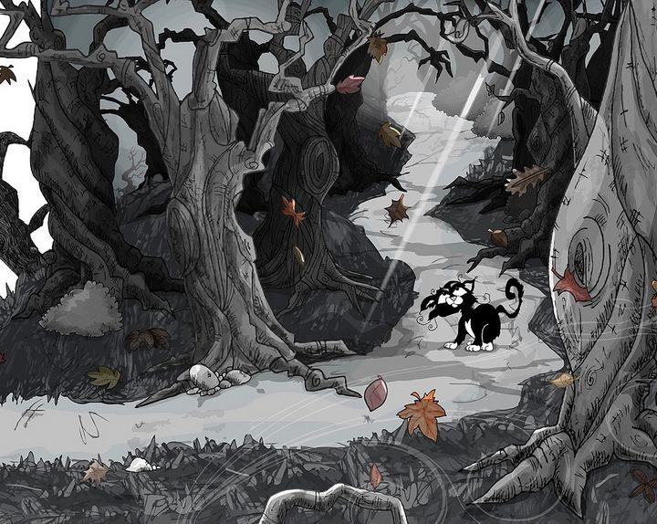 Cat on a Path - Lenny K.