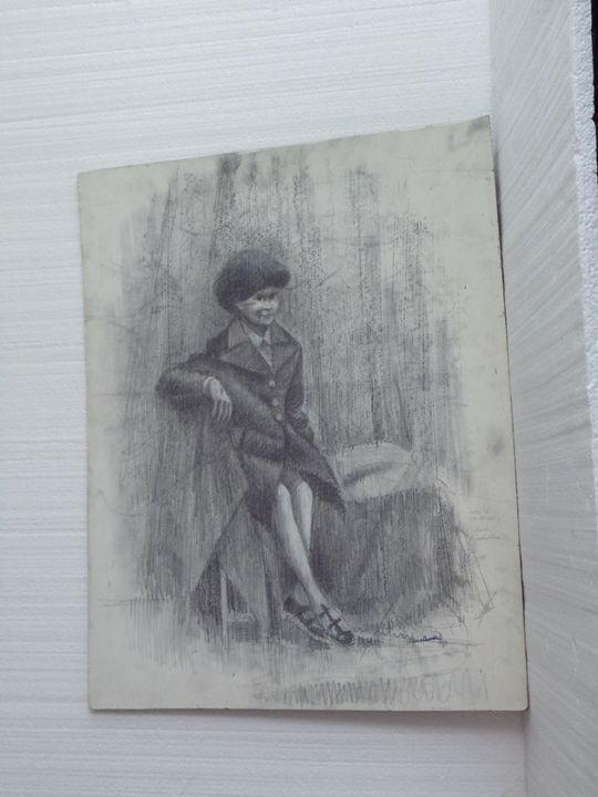 Boy in Coat - Henry J. Wenclawski