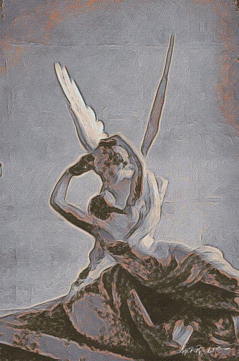 The kiss - April Ross Ekstrom