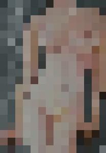 Nude female against a wall - Richard A. Mohan