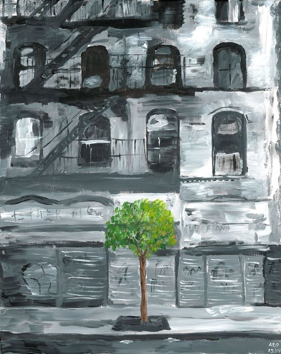 City Trees - Al's Art