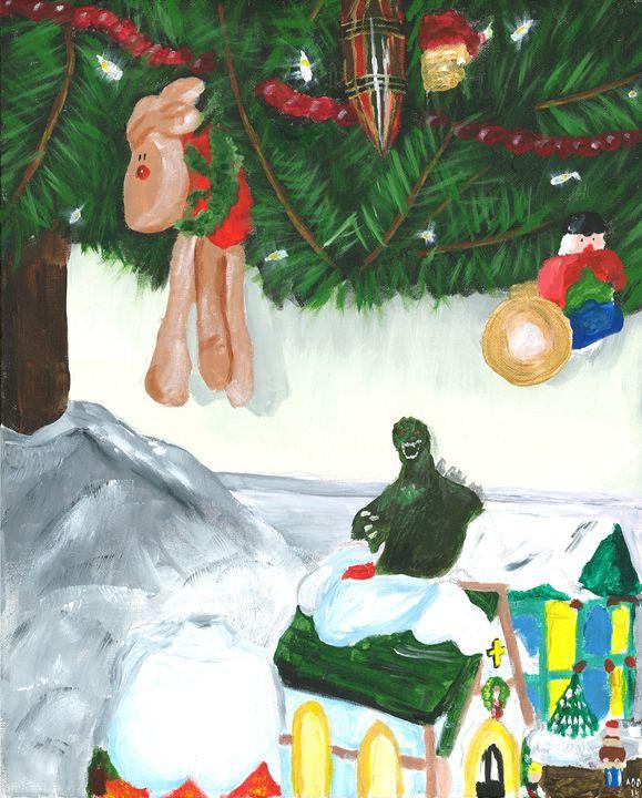 Christmas With Big G - Al's Art