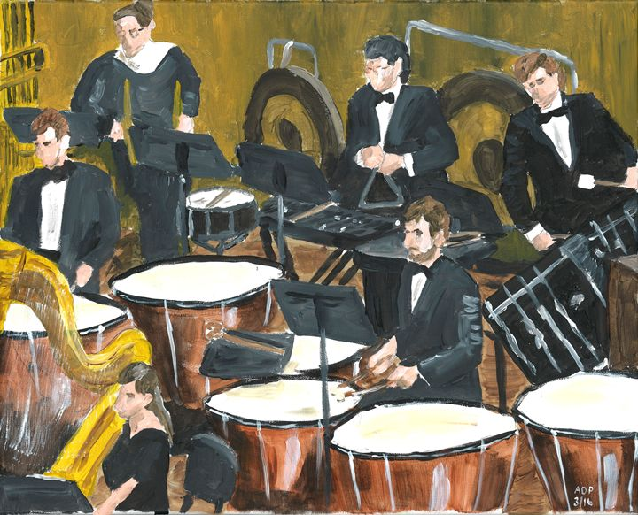 Percussion Section - Alan's Art