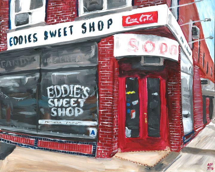 Eddie's Sweet Shop - Al's Art