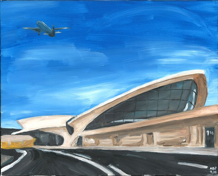 TWA Terminal at JFK - Alan's Art