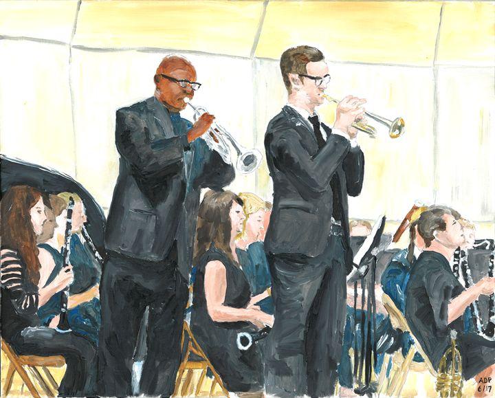 Solo Trumpets - Alan's Art