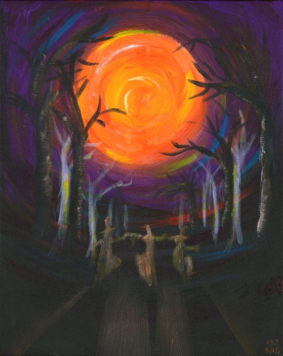 The Dance of the Witches - Alan's Art