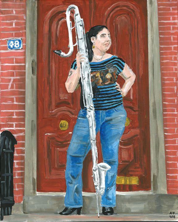 Frankie - Alan's Art
