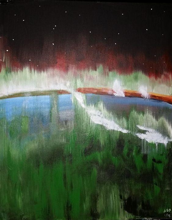 Fragile Oasis - Alan's Art