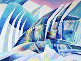 Original Painting - Icebergs