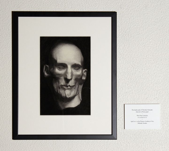 The death mask of Théodore Géricault - Linda Jen