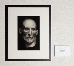 The death mask of Théodore Géricault