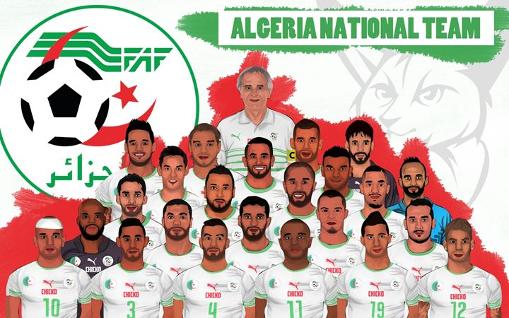ALGERIA NATIONAL TEAM - EL-Chicko