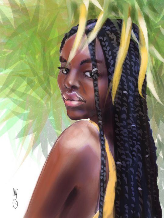 Commission Portrait - Artmagenta