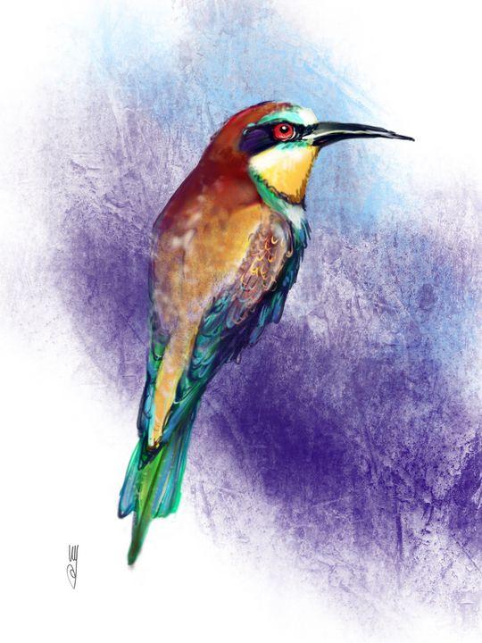 A Bee-eater - Artmagenta