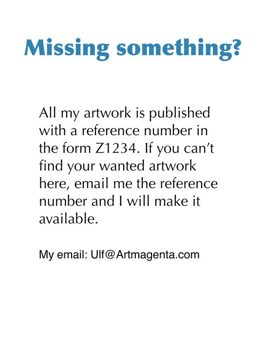 Missing something? - Artmagenta