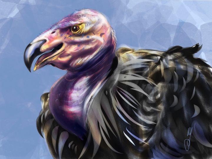 California Condor - Artmagenta