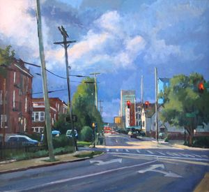 Storm over High St. - Mark Ratzlaff