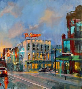 Lights on Victorian Square - Mark Ratzlaff