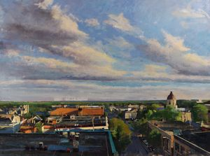 Bloomington, View Over the Rooftops