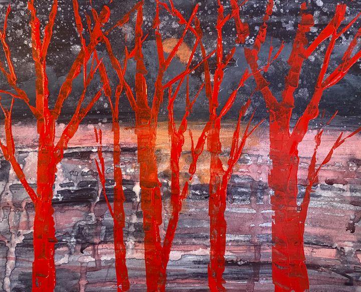 Red Trees - DJ Stenson