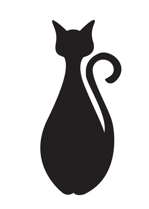Minimalist Cat - QuoteArt