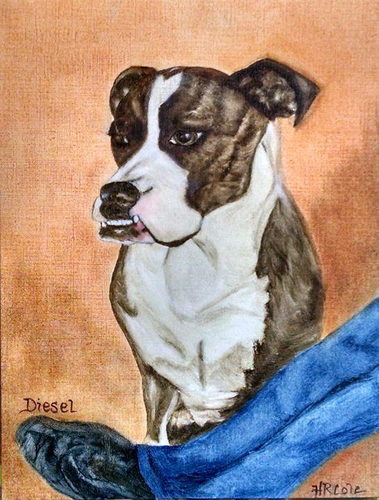Man's Best Friend (Diesel and Tim) - HR Cole